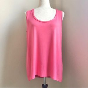 Tahari Rolled Edge Tank